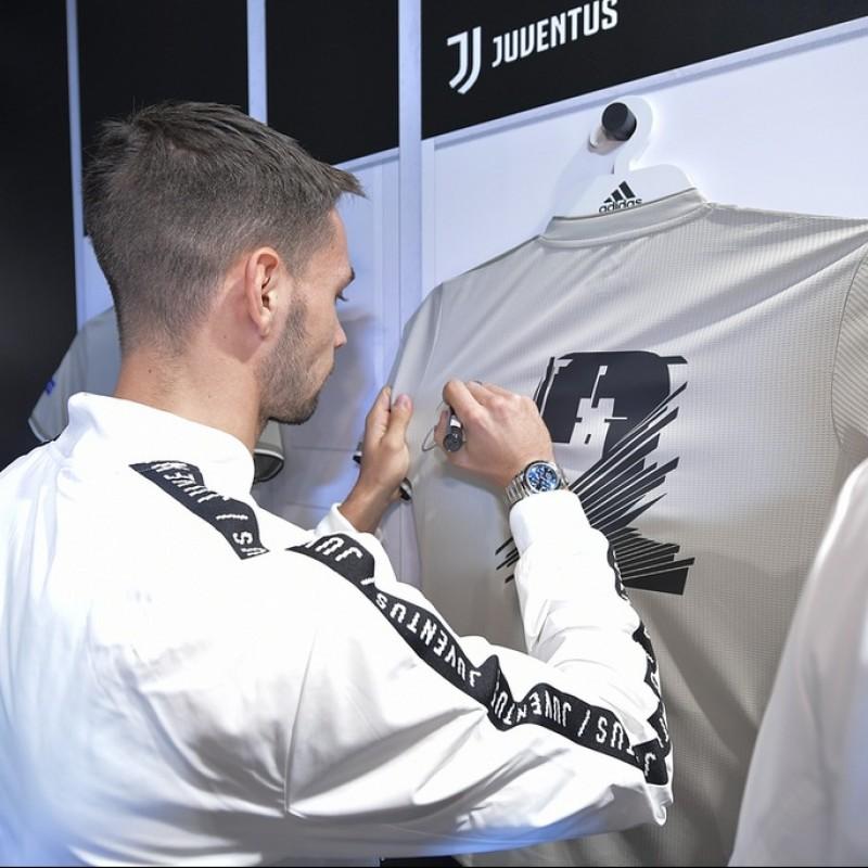"De Sciglio's Juventus ""Here to Create"" Signed Shirt"