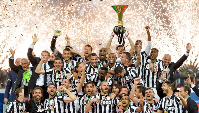 Replica 2014/15 Season Scudetto Won by Juventus