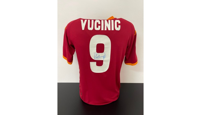Vucinic's Official Roma Signed Shirt, 2007/08