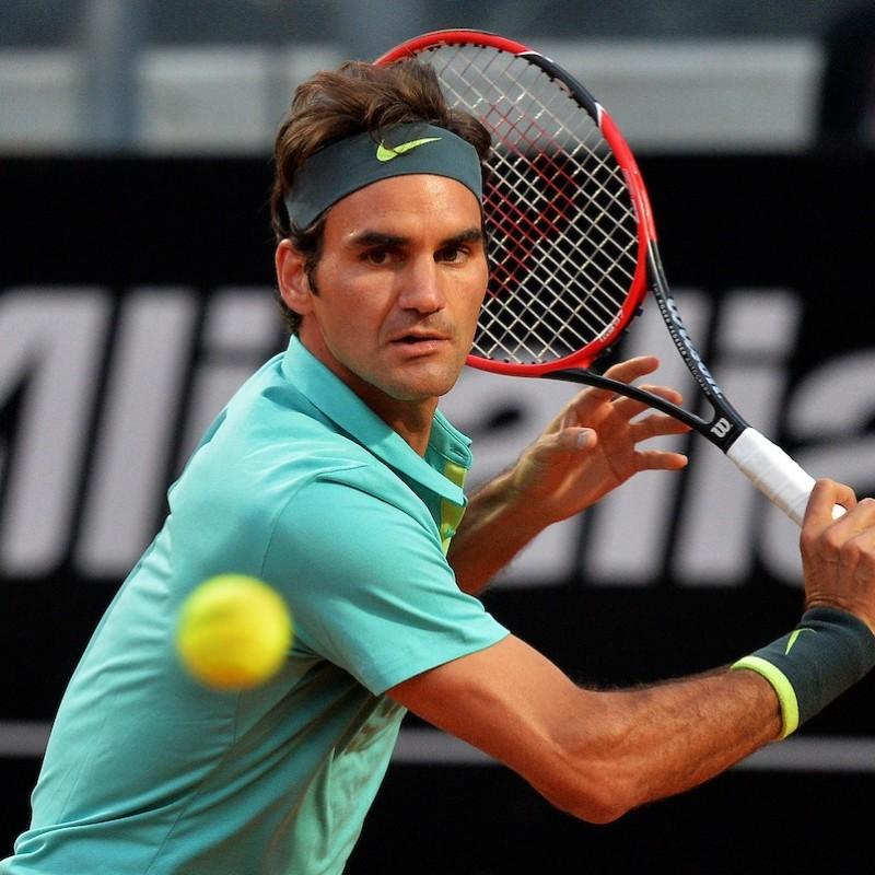 Roger Federer's Signed Wilson Racket