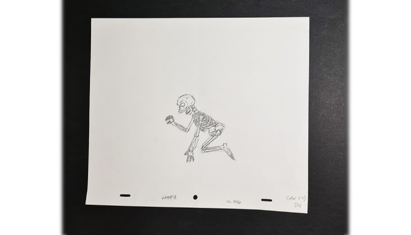 The Simpsons - Original Production Drawing