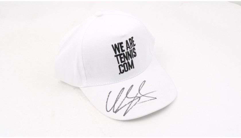 """Wearetennis.com"" Cap Signed by Garcia"