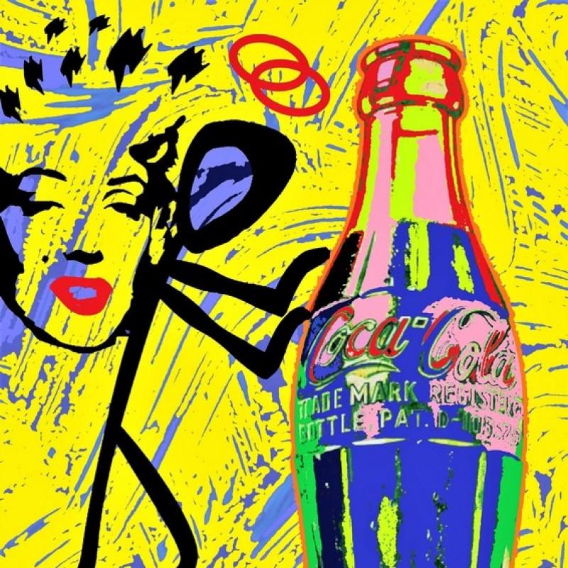 """The Saint Marilyn-Cola"" Original Limited Edition Board by John Efrem"