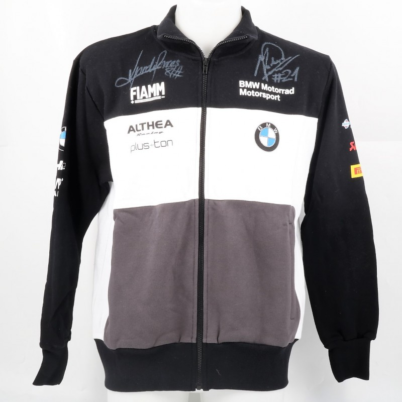 Official BMW Sweatshirt Signed by Torres and Reiterberger