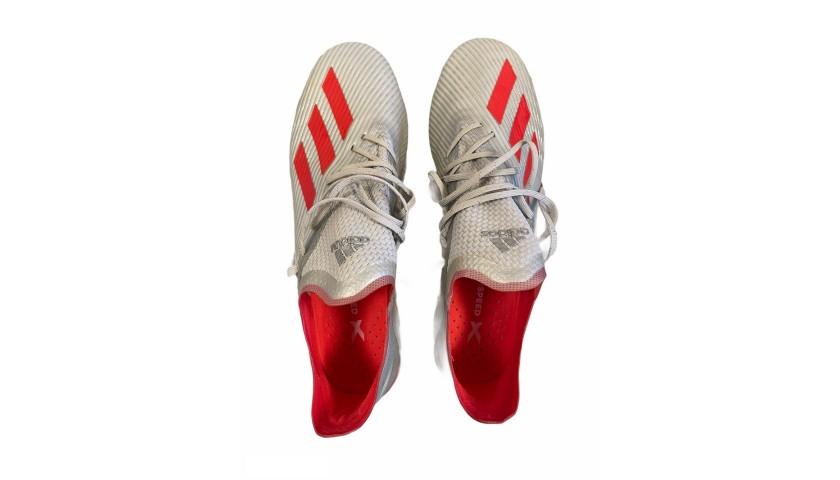 Adidas Boots Worn by Edin Dzeko