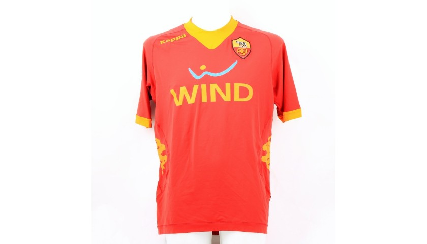 Totti's Roma Signed Match Shirt, Serie A 2011/12