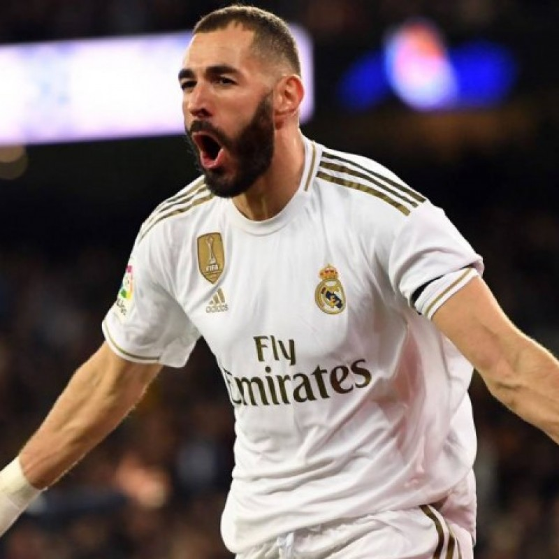 Benzema's Official Real Madrid Signed Shirt, 2019/20