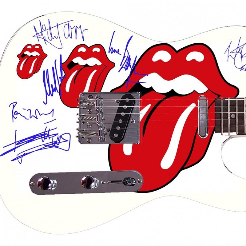 The Rolling Stones Custom Graphics Guitar