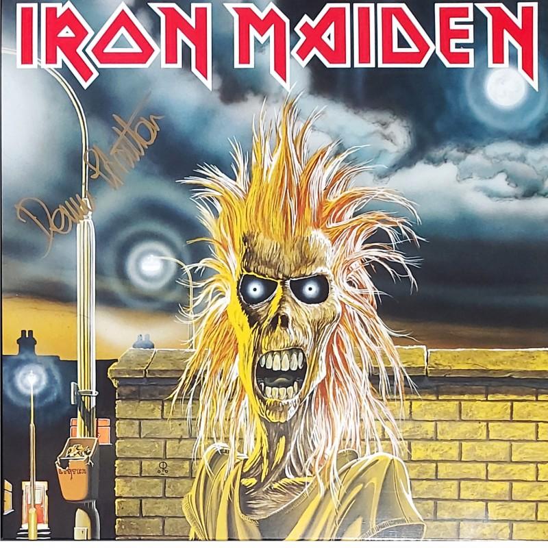 Iron Maiden - Dennis Stratton Signed LP