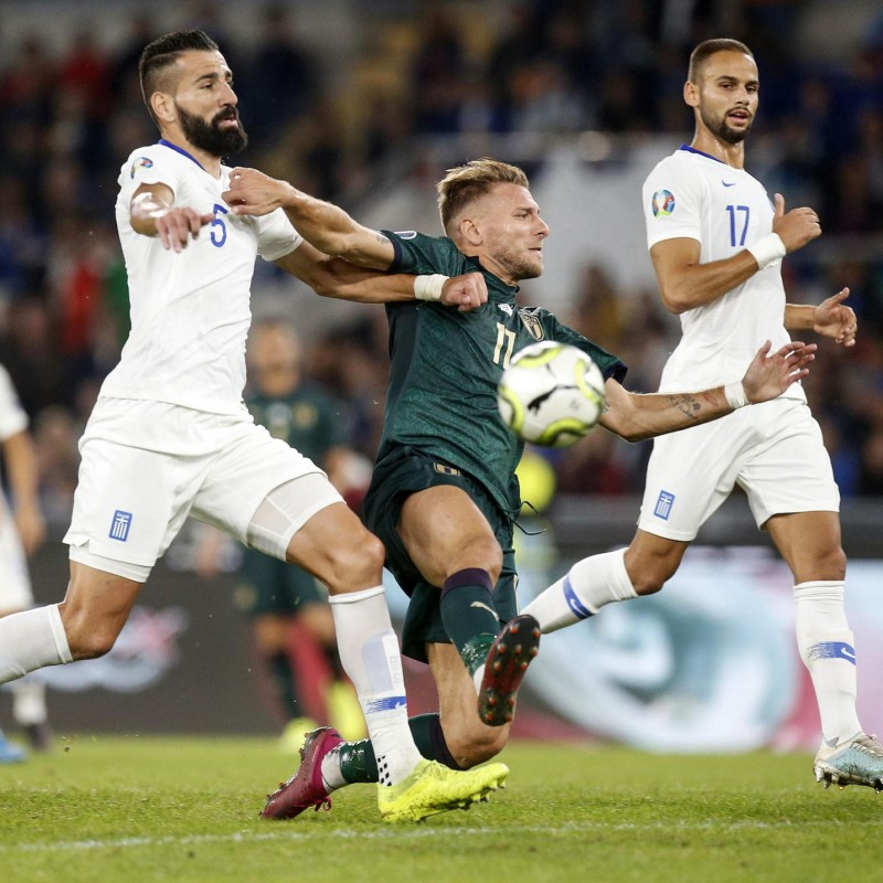 Immobile's Match Shorts, Italy-Greece 2019