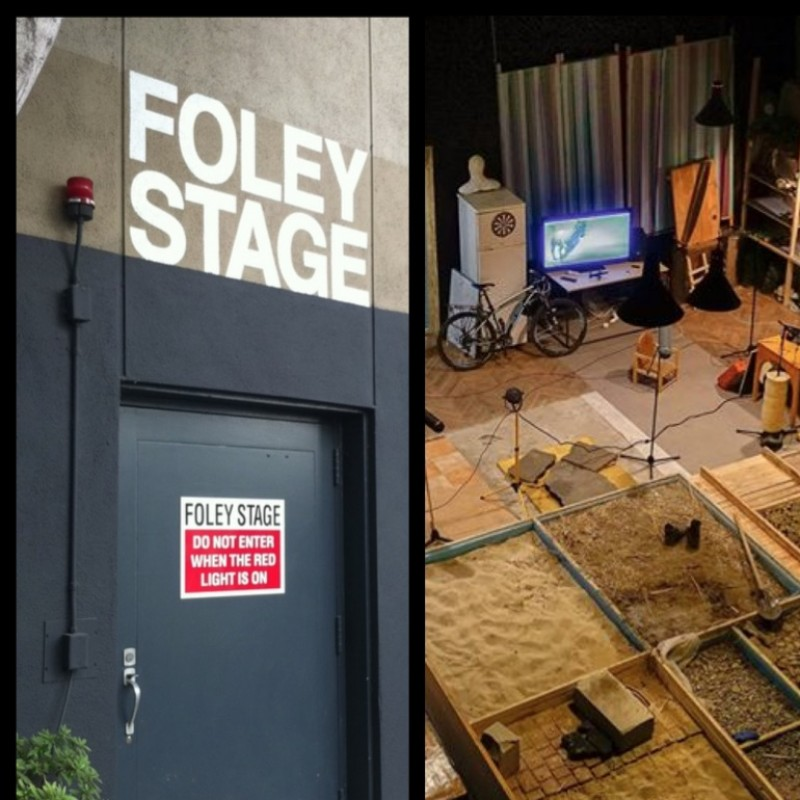 "Visit The Foley Stage at Paramount Studios & See ""Behind the Scenes"" Movie Magic!"