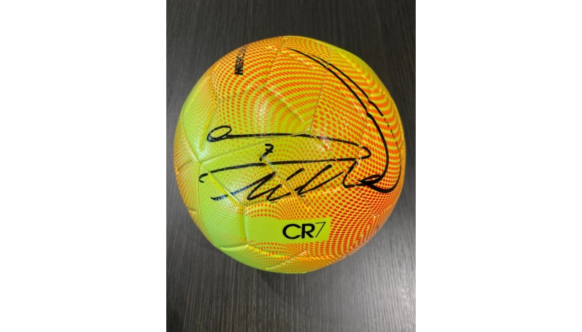 Official Nike Mercurial Football - Signed by Ronaldo