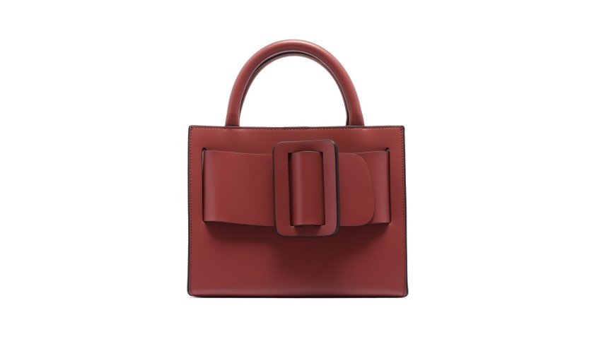 Indian Red Bobby 23 Leather Bag by Boyy