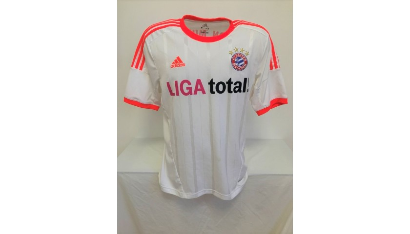 Ribery's Official Bayern Munich Signed Shirt, 2012/2013