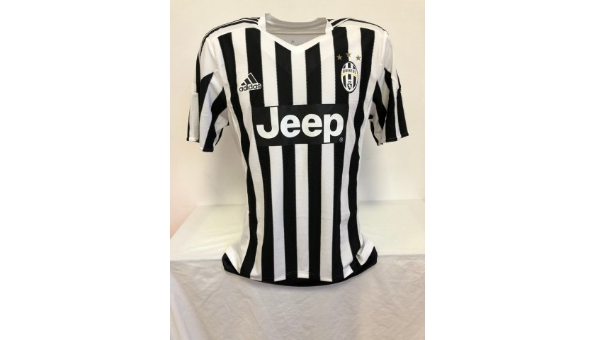 Pjanic's Official Juventus 2015/16 Signed Shirt