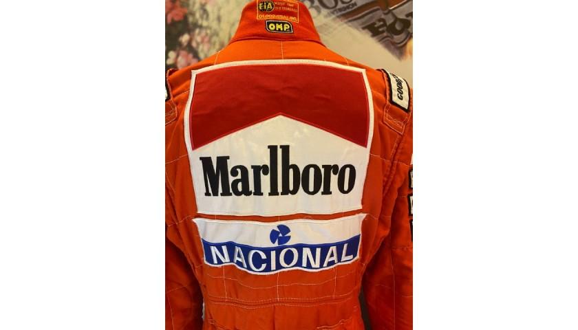 Ayrton Senna's McLaren Worn Race Suit, 1993