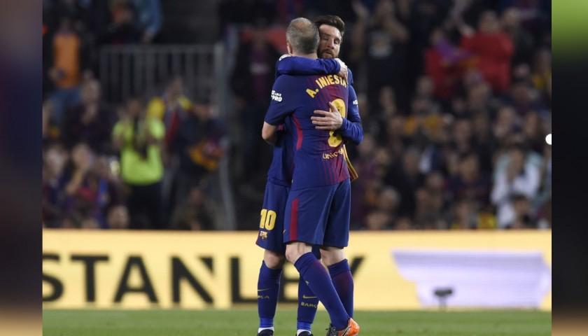Iniesta's Match Shirt, Clasico 2018 - Eat Like a Pro