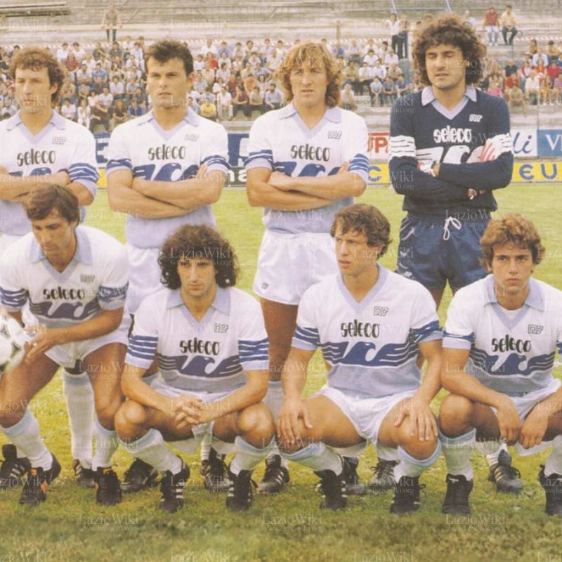 Worn Lazio 1982/83 Season Shirt