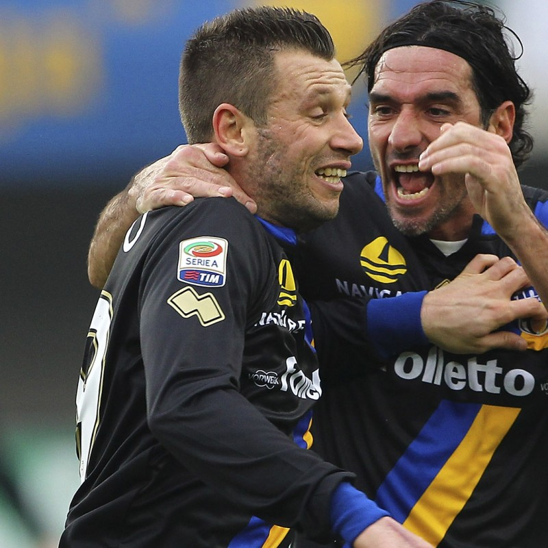 Cassano's Official Parma Signed Shirt, 2013/14