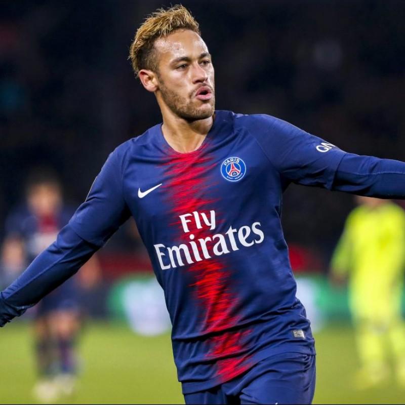 Neymar's Authentic PSG Signed Shirt, 2018/19