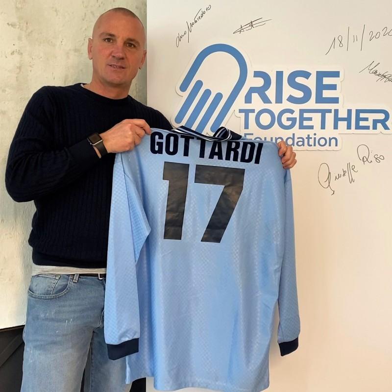 Gottardi's Lazio Issued Shirt, 1995/96