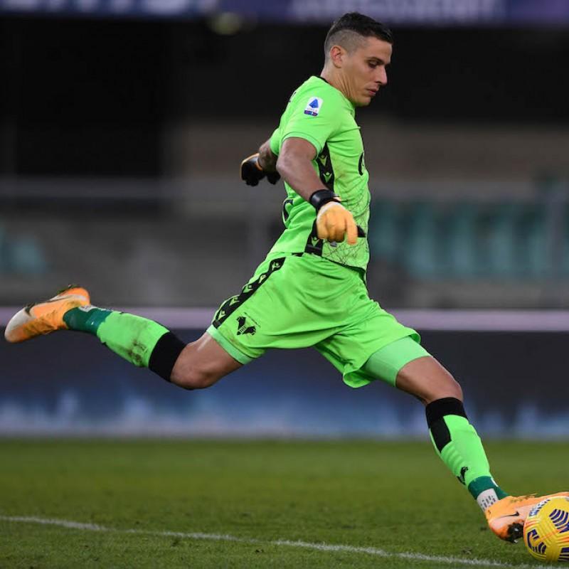 Silvestri's Official Hellas Verona Signed Shirt, 2020/21 + Socks