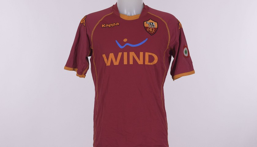 Francesco Totti's AS Roma Signed Shirt, 2008/2009