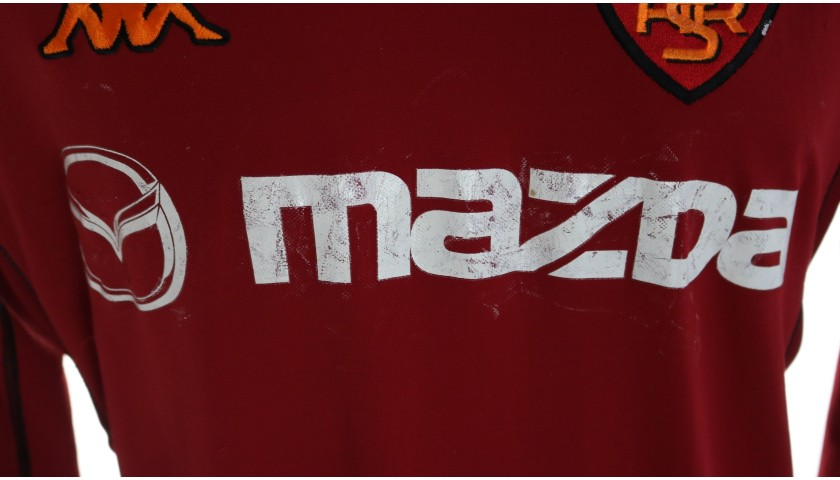 Totti's Roma Match Shirt, 2002/03