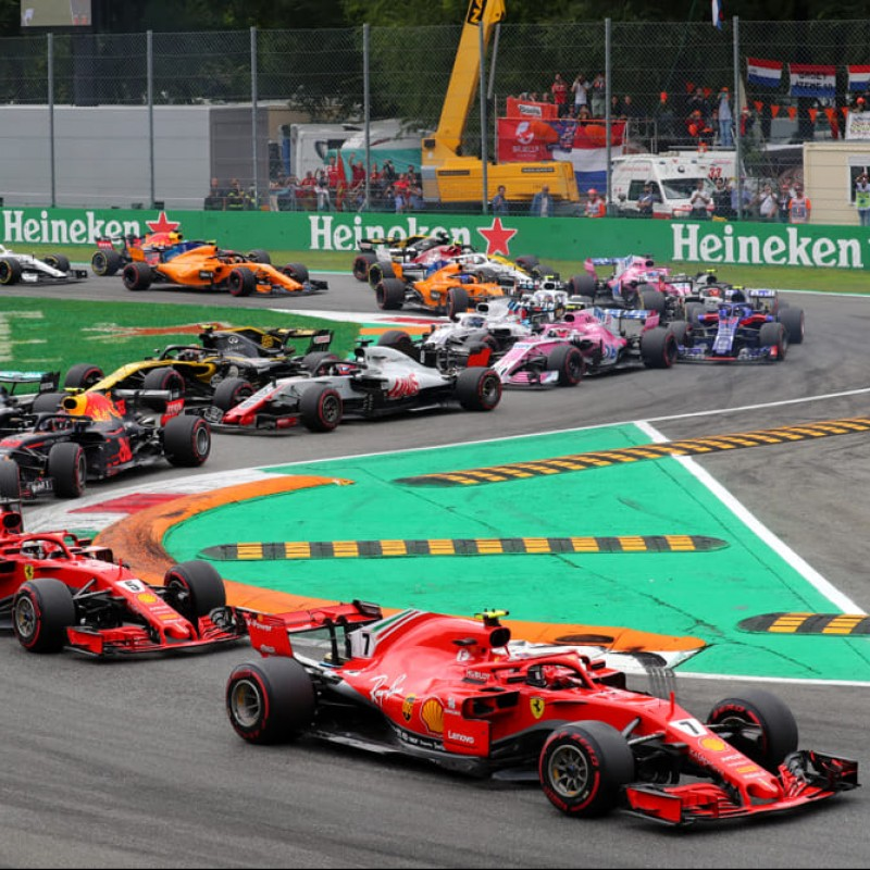 Monza 2020 Grand Prix Paddock Passes + Helicopter Transport