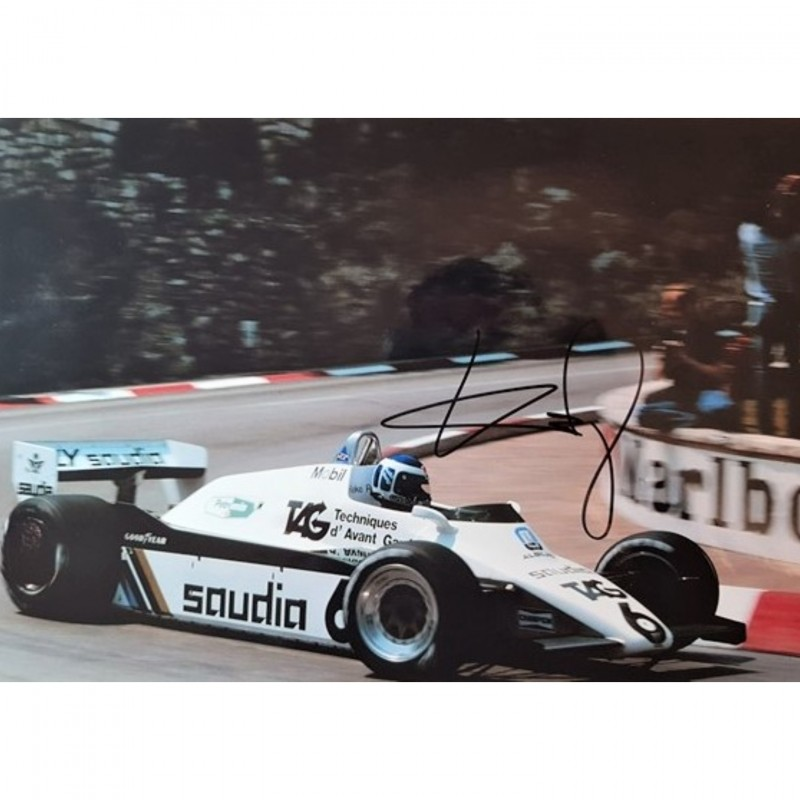 Photograph Signed by Keke Rosberg