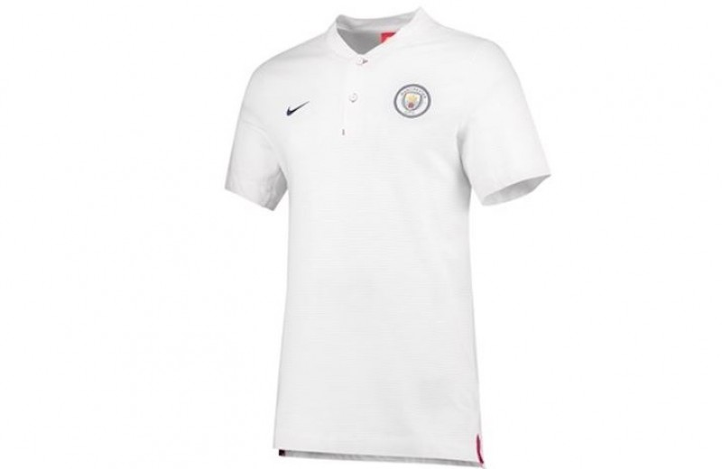 Manchester City Nike Polo Shirt - M