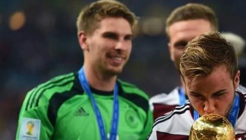 Zieler shirt, worn in Germany-Argentina 13/07/14, 2014 World Cup Final