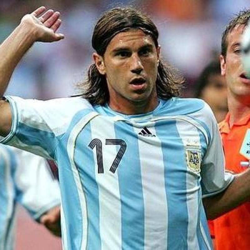 Cufrè's Match-Issued Argentina Shirt, 2006 World Cup