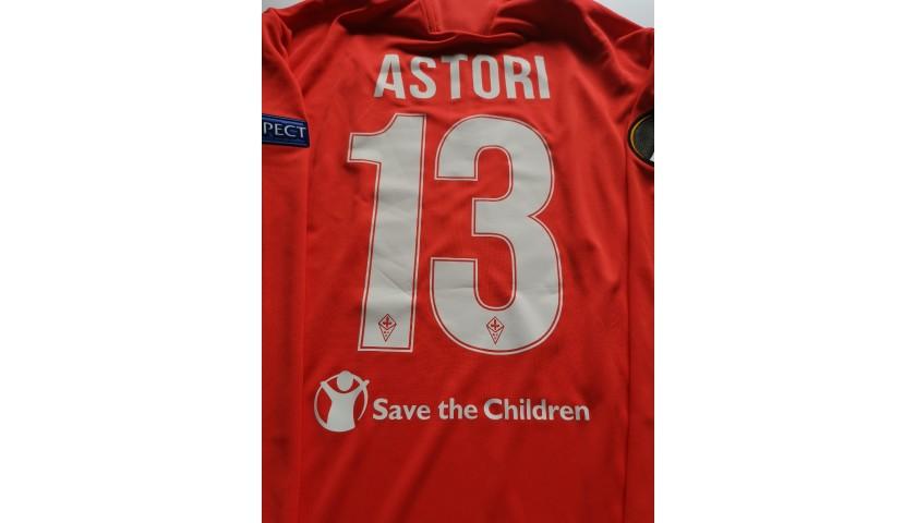 Astori's Fiorentina Match Shirt, EL 2016/17