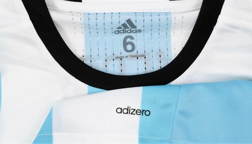 Messi's Argentina Match Shirt, Copa America 2016 Final