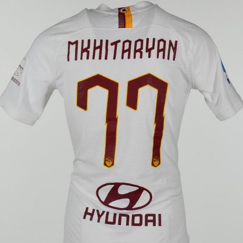 "Maglia Mkhitaryan indossata Roma-Parma, ""Grazie Maestro"""
