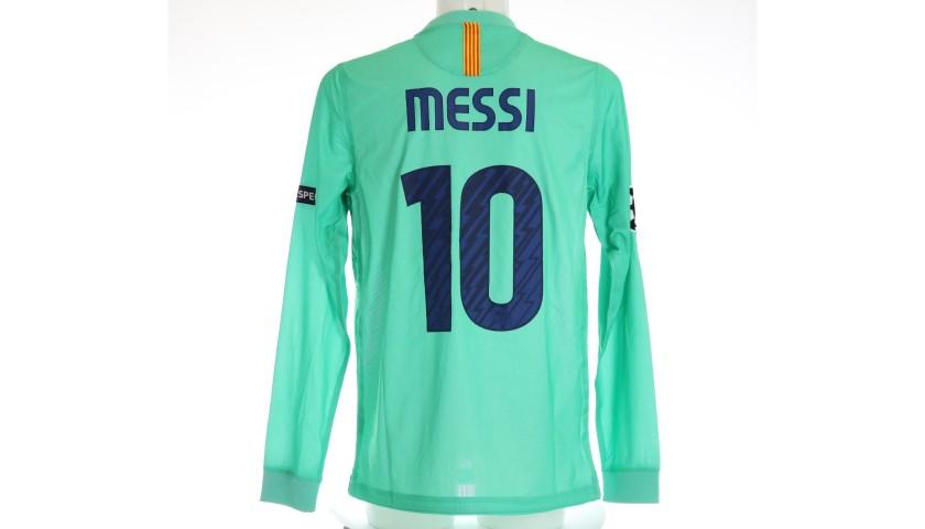 Messi's Barcelona Match Shirt, UCL 2010/11
