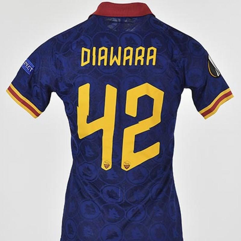 Diawara's Worn Shirt, Wolfsberger-Roma 19/20