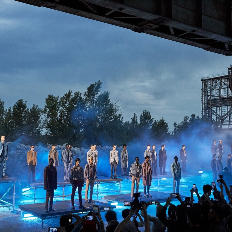 Attend the Ermenegildo Zegna Fashion Show F/W 2020