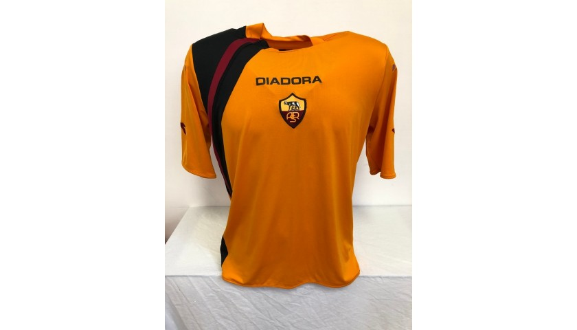 De Rossi's Official Roma Signed Shirt, 2005/06