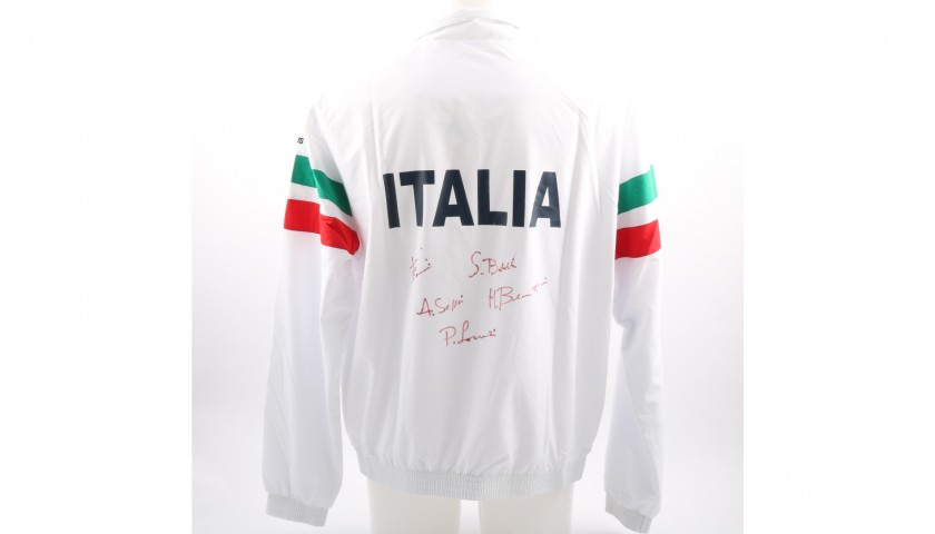 Italian Tennis Federation Tracksuit Signed by the Players