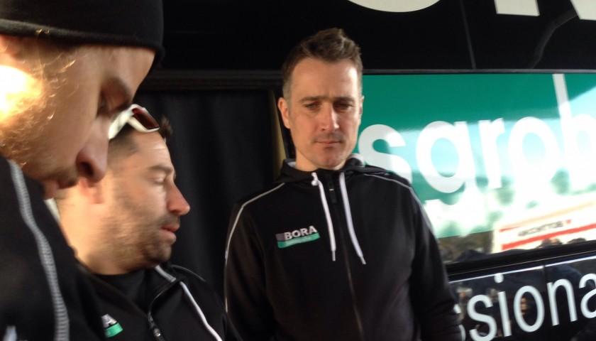 Peter Sagan Red Shirt, Tirreno Adriatico 2017 - Signed