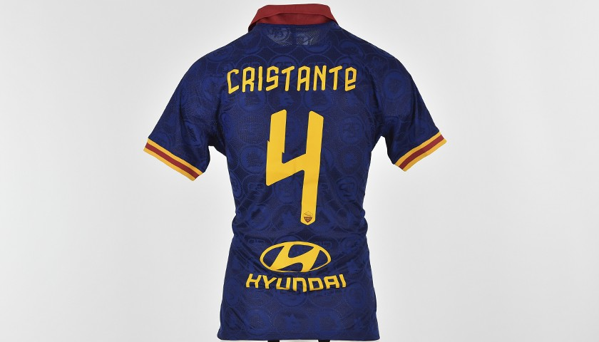Cristante's Match-Issued Shirt, Roma-Juventus 19/20