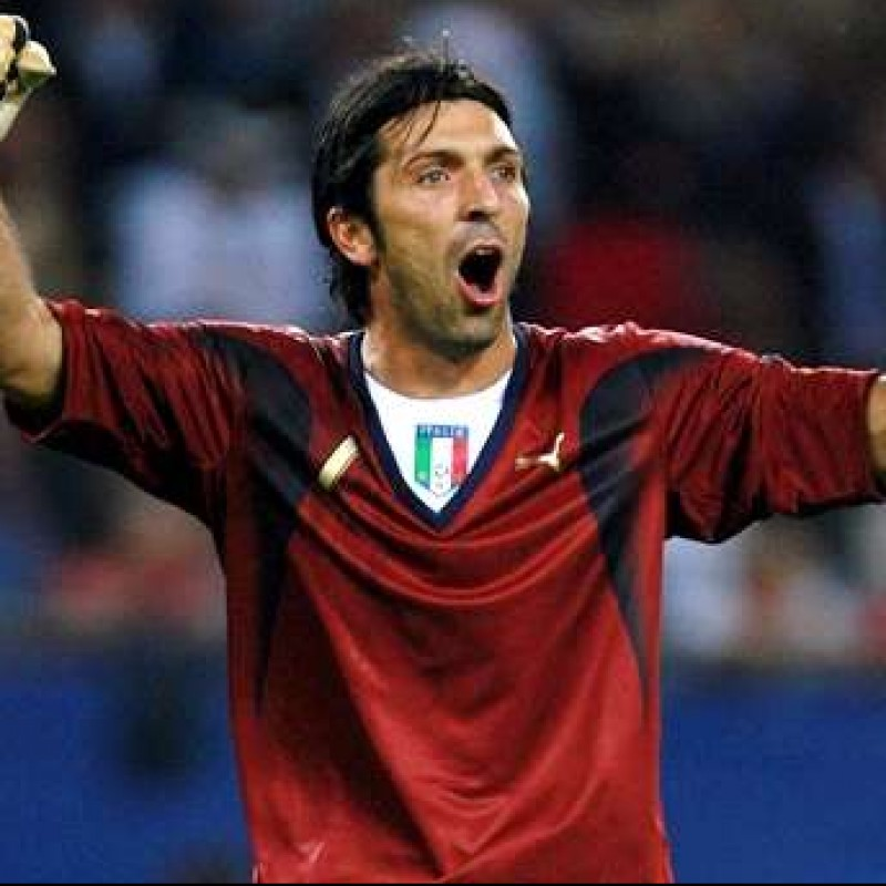 Buffon's Italy Match Shirt, 2006/07 Season