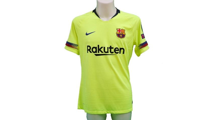 dd7648ef0 Messi s Match-Issue Worn Shirt