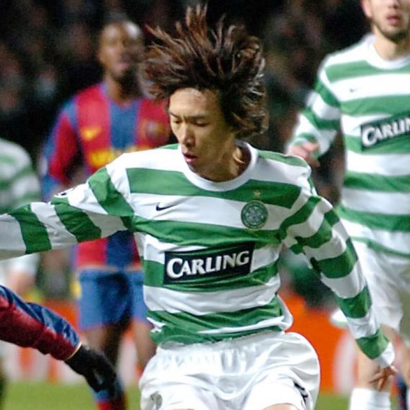 Nakamura's Official Celtic Glasgow Signed Shirt, 2007/08