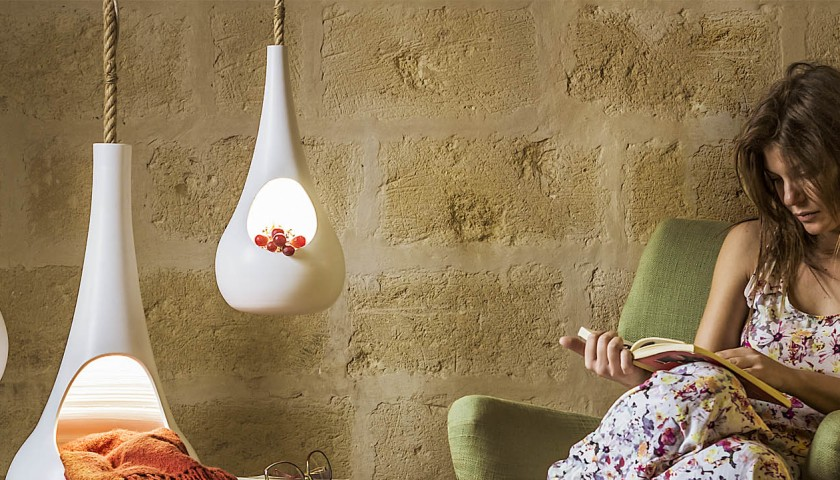 Goccia (Suspended Ceramic Containers) by D-Lab