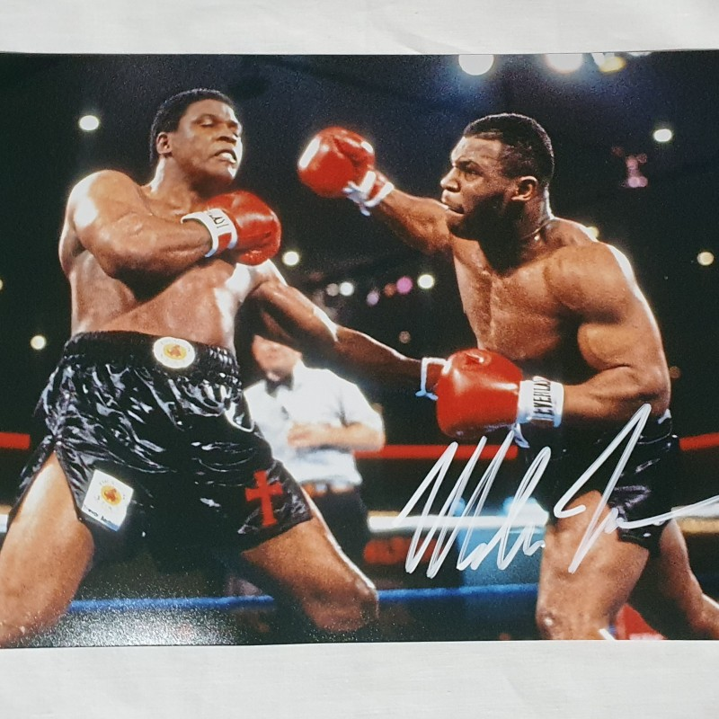Photograph Signed by Mike Tyson