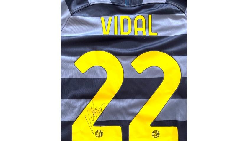 Vidal's Official Inter Signed Shirt, 2020/21