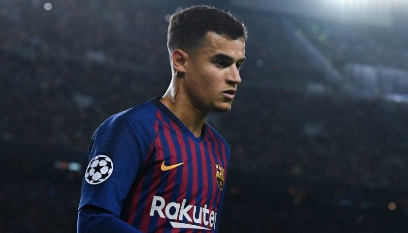 0713d061e78e Live Bid! Coutinho's Barcelona Match-Issue and Signed Shirt, 2018/19
